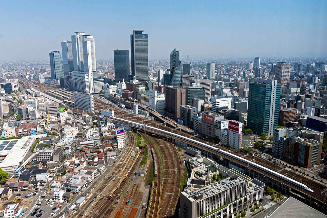 名古屋プリンスホテル スカイタワー からの俯瞰