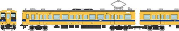 JR105系新製車 福塩線
