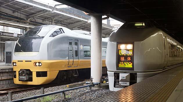 JR時代の常磐線昼行特急