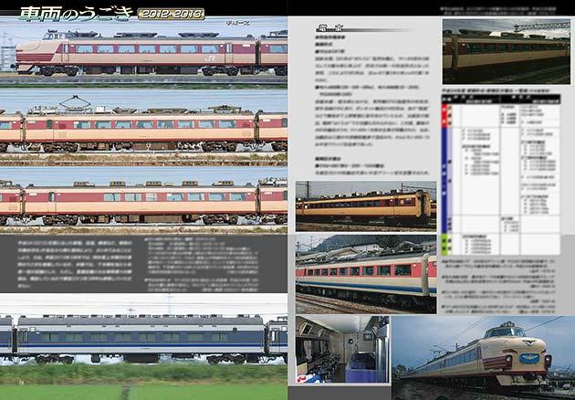 車両のうごき2012/2013