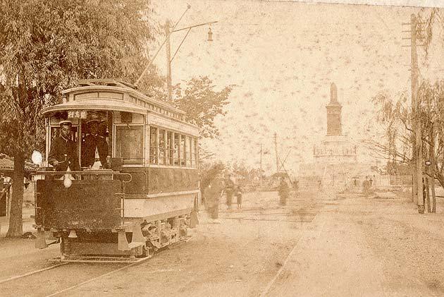 絵はがき前史の鉄道写真 明治の印画紙に記録された名古屋の電車