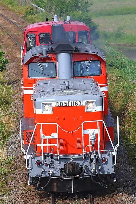JR西日本のDD51 2020-2021